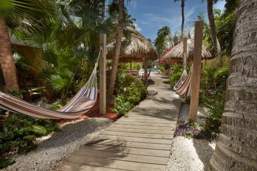 Een tuin van Paradera Park Aruba