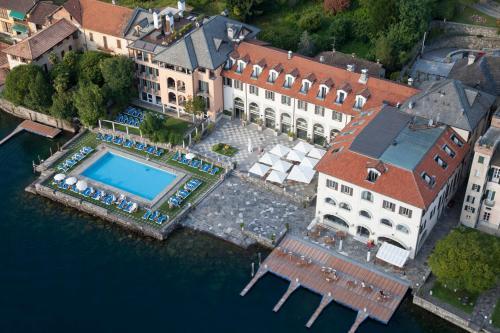A bird's-eye view of Hotel San Rocco