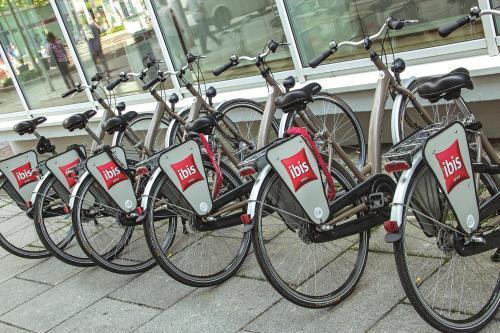 Biking at or in the surroundings of ibis Dresden Zentrum
