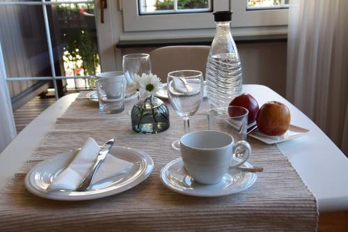 Een restaurant of ander eetgelegenheid bij Haus von Hoegen