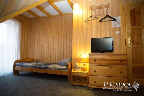 Telewizja i/lub zestaw kina domowego w obiekcie U Kuruca