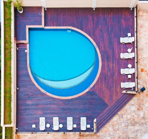 Uma vista da piscina em Blue Tree Towers All Suites Santo André ou nos arredores