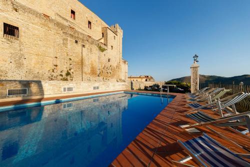 The swimming pool at or near Castello Orsini Hotel