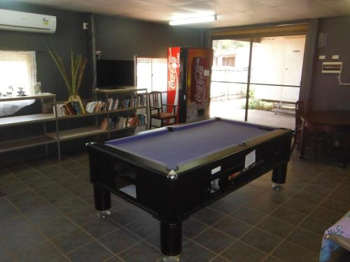 A pool table at Anchorage Weipa