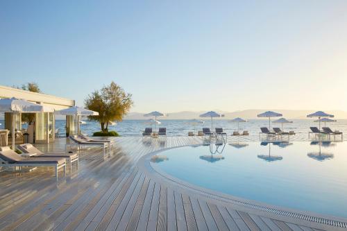 The swimming pool at or near Mayor Capo Di Corfu