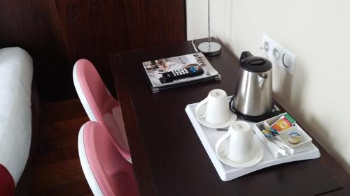 Coffee and tea making facilities at Avalon Hotel Paris Gare du Nord