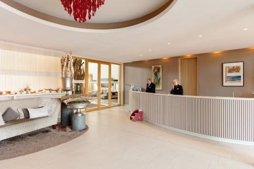 The lobby or reception area at A-ROSA Sylt