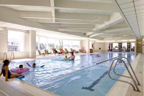 The swimming pool at or near Hyatt Regency Bellevue