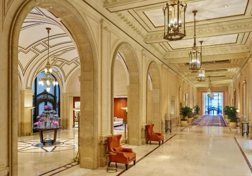 The lobby or reception area at Palace Hotel, a Luxury Collection Hotel, San Francisco