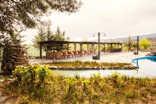 Piscina en o cerca de Alojamientos Rurales los Albardinales