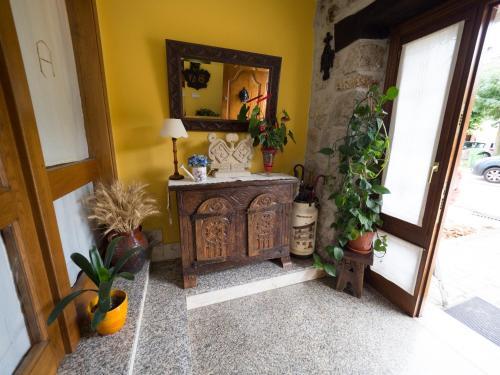 El lobby o recepción de Casa Rural Martxoenea Landetxea