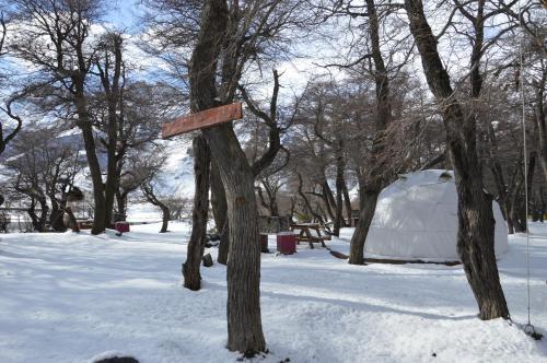 Bonanza Eco Aventura Camping durante el invierno