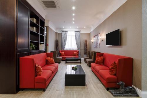 Гостиная зона в Отель Раймонд