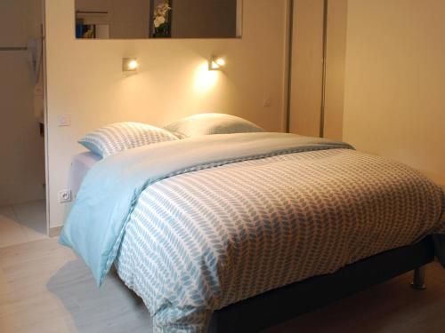 Un ou plusieurs lits dans un hébergement de l'établissement Le MOULIN des CHARTREUX - 1733