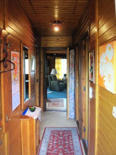 Ein Sitzbereich in der Unterkunft Erlengrund 31