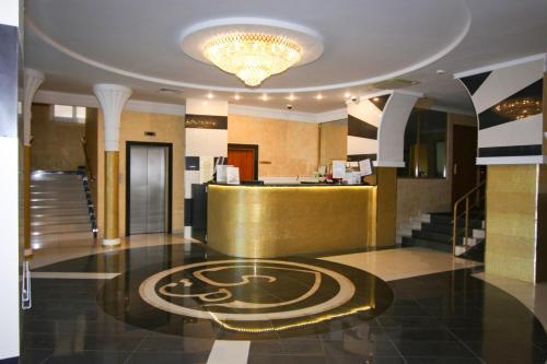 Лобби или стойка регистрации в Suleiman Palace Hotel