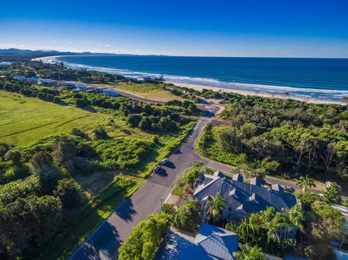 A bird's-eye view of 6/34 Kendall St, Byron Bay - Kendall Beach Apartments