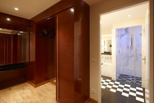 Ванная комната в Grand Hotel Mussmann