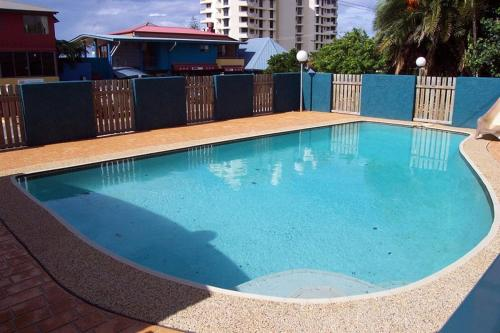 The swimming pool at or near Unit 4 'Cooltoro Court', Coolum Beach