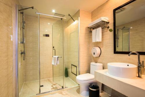 Ванная комната в Vienna Hotel He'nan Anyang