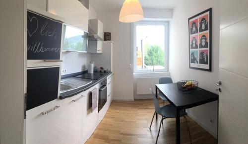 Küche/Küchenzeile in der Unterkunft 2 Zimmer Apartment