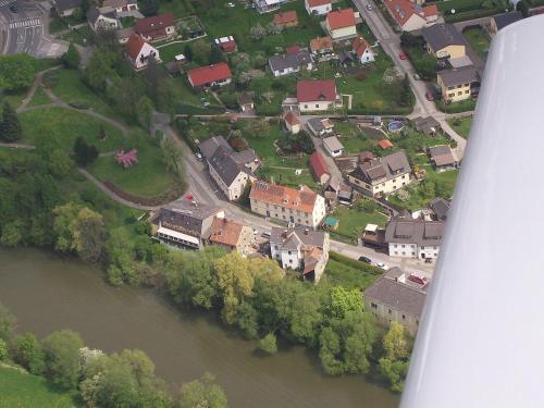 Blick auf Hotel-Gasthof Restaurant Murblick aus der Vogelperspektive
