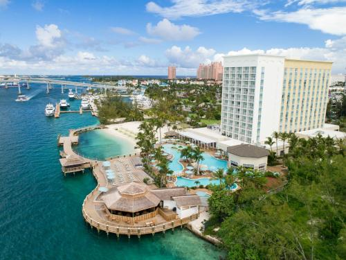 A bird's-eye view of Warwick Paradise Island Bahamas - All Inclusive - Adults Only