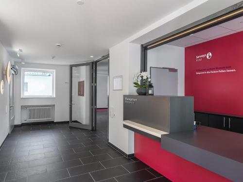 Lobby/Rezeption in der Unterkunft Serways Hotel Siegburg West