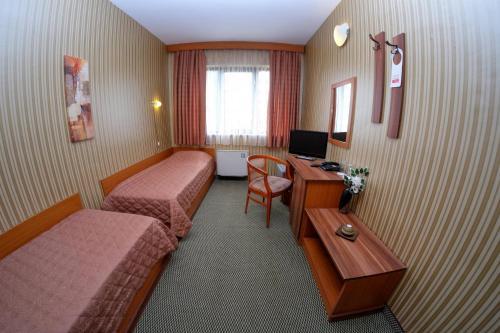 Кът за сядане в Rodopi Hotel