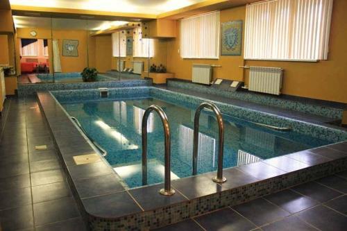 The swimming pool at or near Hotel Aksu