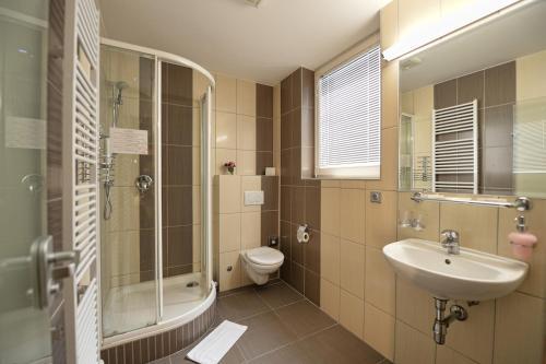 Ванная комната в Hotel Vaka