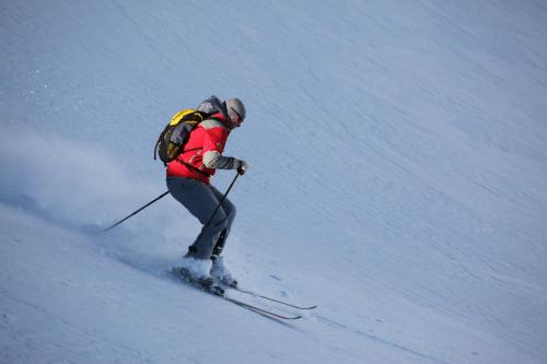 Skiing at the bed & breakfast or nearby