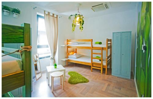 A bunk bed or bunk beds in a room at Boutique Hostel Shappy