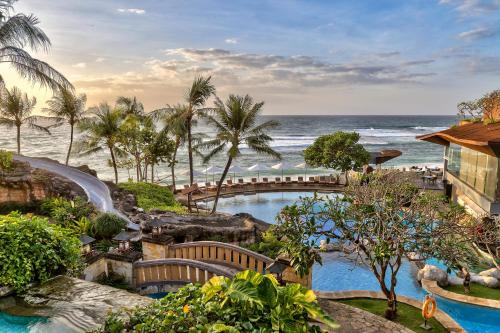 A view of the pool at Hilton Bali Resort or nearby