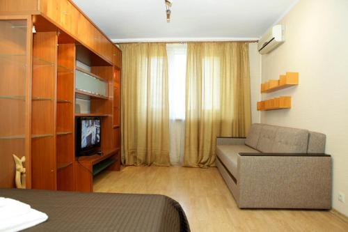 Гостиная зона в Apartment on Krylatskoe