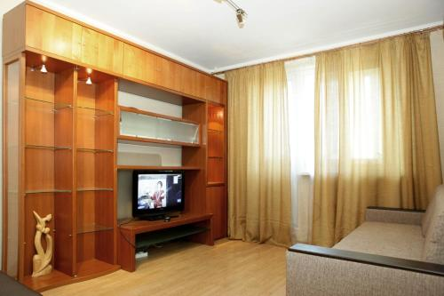 Телевизор и/или развлекательный центр в Apartment on Krylatskoe