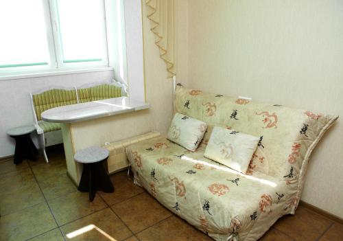 Гостиная зона в Apartment on Filevsky Park
