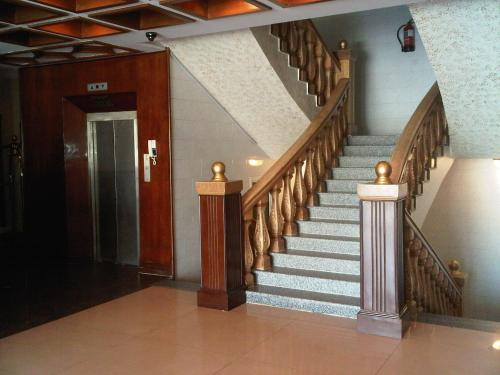 O saguão ou recepção de Durat Al Matar Apartment