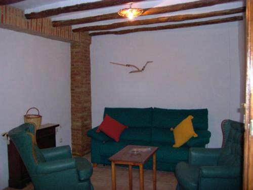 Zona de estar de La Villa Priego de Cordoba