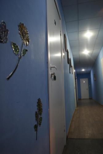 Ванная комната в Podsolnuh Hostel