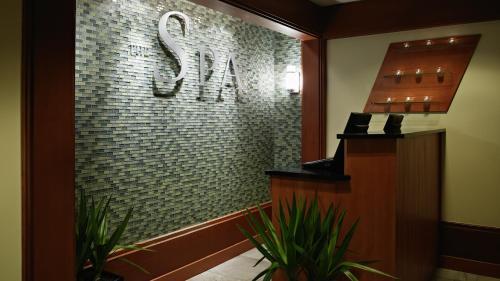 The lobby or reception area at Salish Lodge & Spa