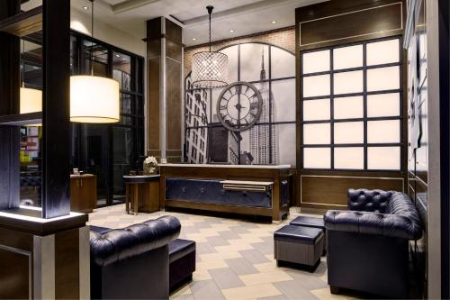 A seating area at Archer Hotel New York