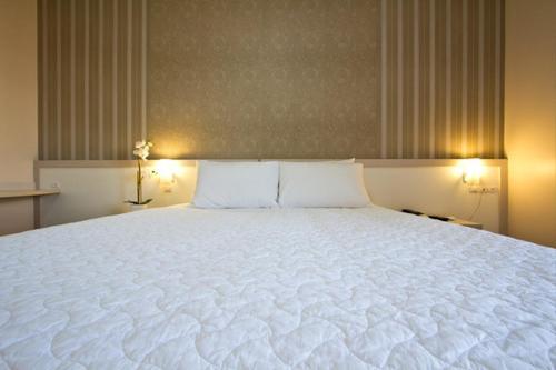 Cama ou camas em um quarto em Gaboardi Park Hotel
