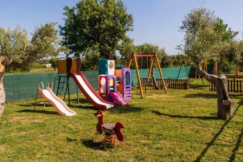 Children's play area at Thalassa Apart Hotel