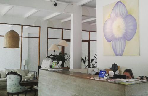 El lobby o recepción de Hotel Boutique Casagrande