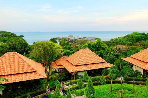 A bird's-eye view of Kantiang View Resort