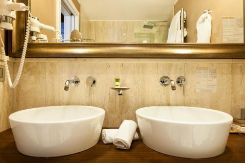 Salle de bains dans l'établissement Hotel Milano Scala