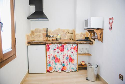 Una cocina o zona de cocina en Navazos loft