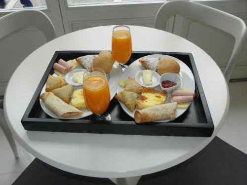 Επιλογές πρωινού για τους επισκέπτες του Hotel Metropolis