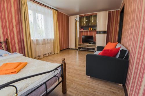 Гостиная зона в Nine Nights Apartmens on Kalinina 48